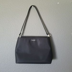 Vintage Kate Spade Vinyl Shoulder Bag